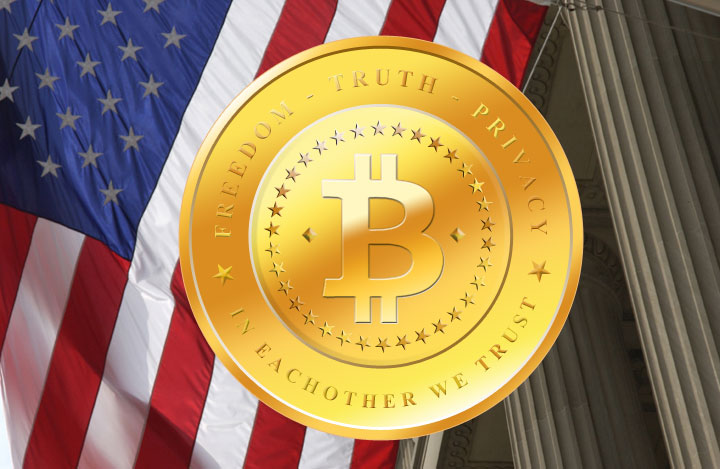 BitCoin-Commerce-American-Flag