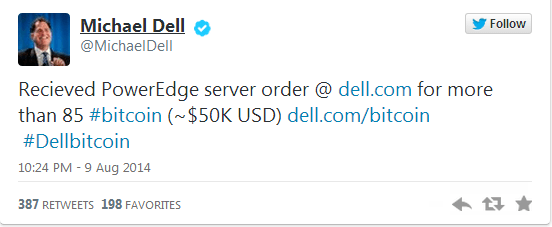 2014-08-12 18-13-06 Dell Receives $50K Hardware Order Paid in Bitcoin - Google Chrome