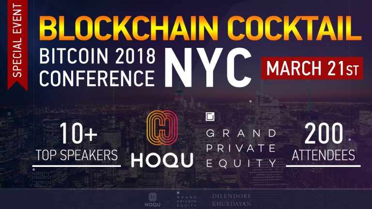 Bitcoin Conference New York 2018/Blockchain Cocktail