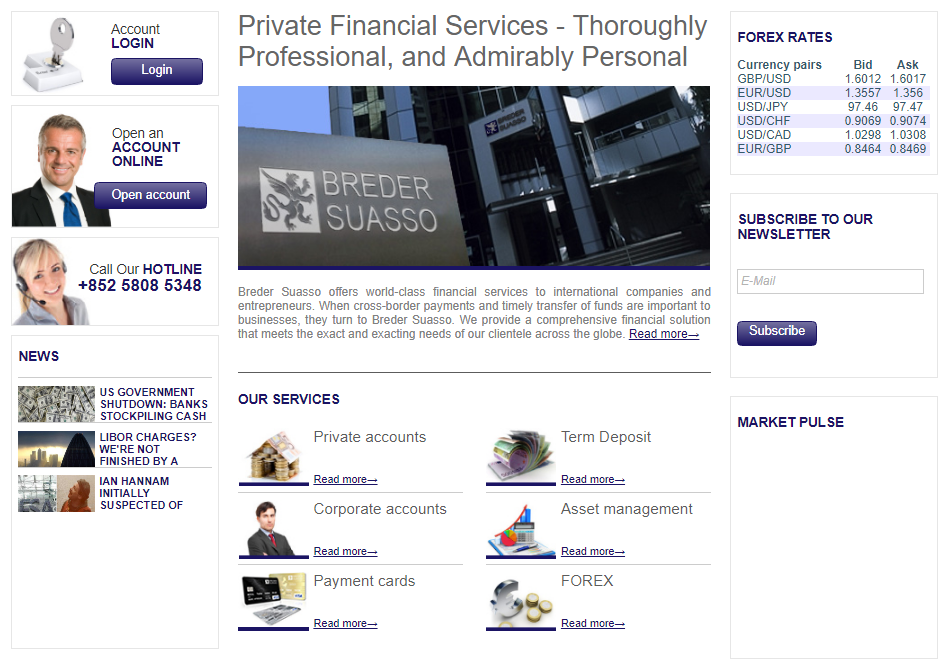 Global Transaction Services Breder Suasso