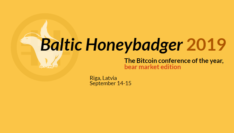 Baltic Honeybadger 2019 Sep