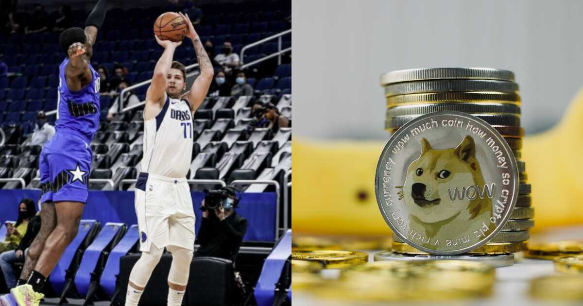 Dogecoin, dallas Mavericks, баскетбол