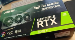 видеокарта GeForce RTX 3060